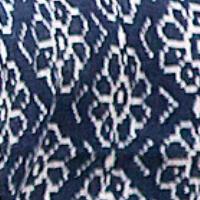 Floral Majesty blau / weiss