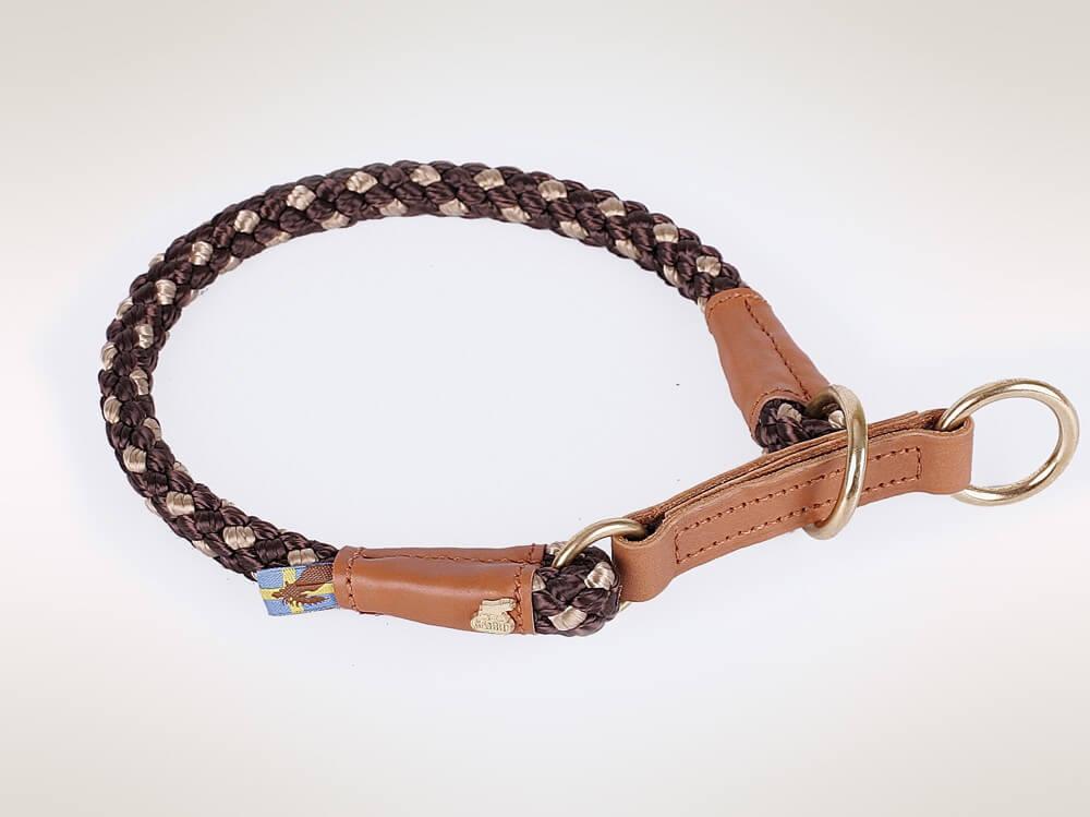 Outdoor Halsband braun beige